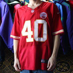 NFL Peyton HILLIS AFL 50th Kansas City Jersey
